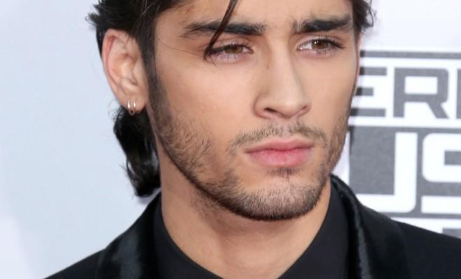 Zayn Malik on the red carpet