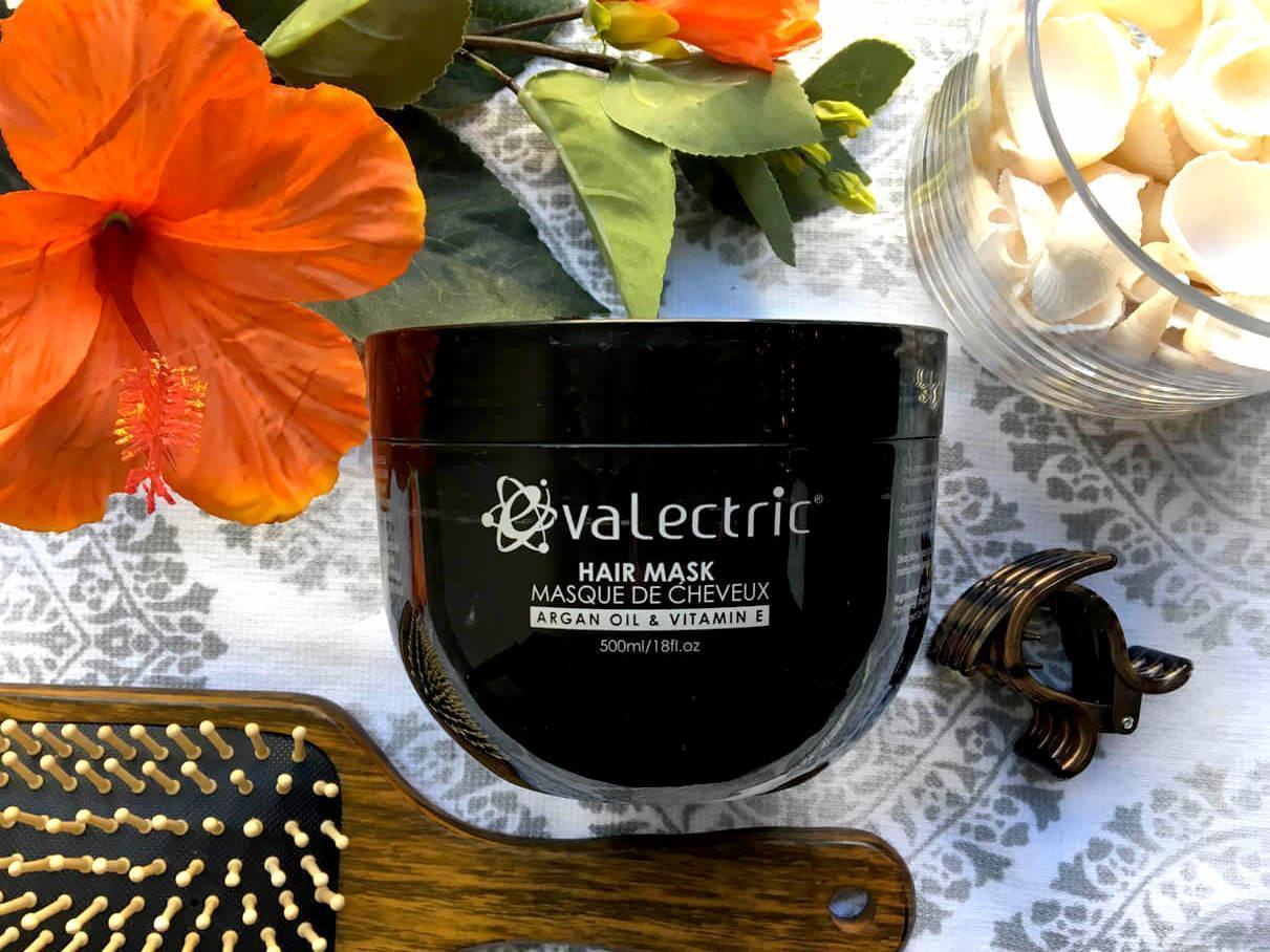 Evalectric hair mask