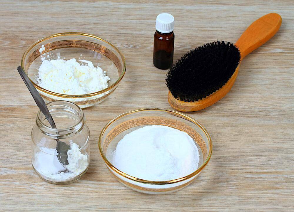 DIY ingredients for home shampoo