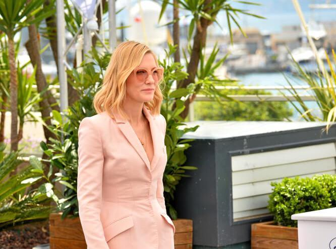 Cate Blanchett at the photocall for the Cannes Jury at the 71st Festival de Cannes