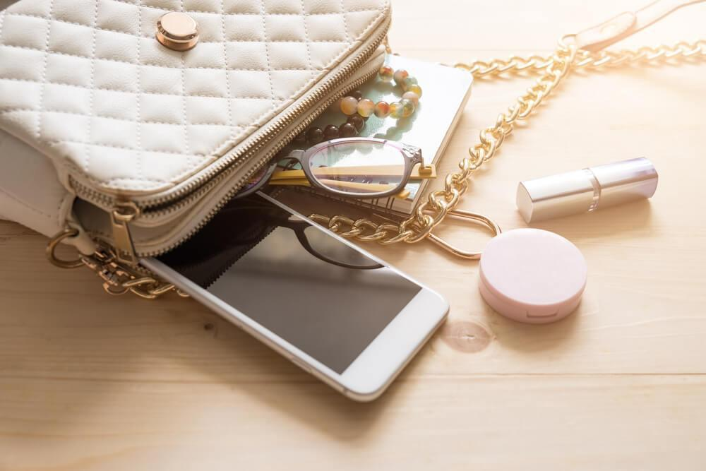 Cluttered purse