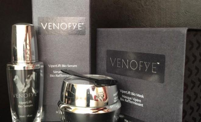 Venofye ViperLift Mask and Serum with packaging