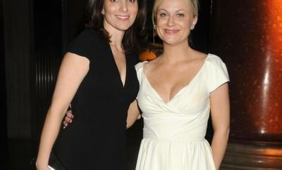 Tina Fey and Amy Poehler at an event