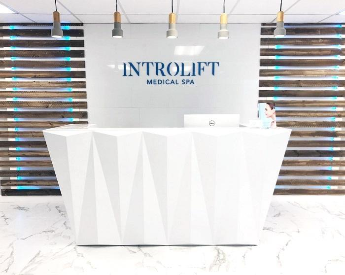 Introlift medical spa entrance